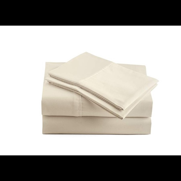 Jaclyn Smith Collection 400 Thread Count Super Soft 100/% Cotton Sateen Sheet Set